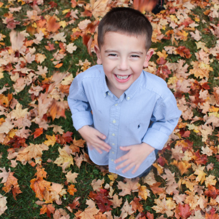 Endicott Park Fall Family Shoot