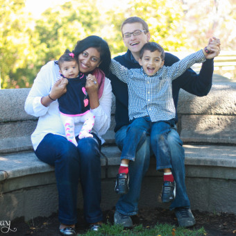 Fall Family Photos at Larz Anderson Park