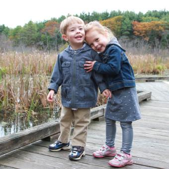 Twins' Halloween Hike at Broadmoor